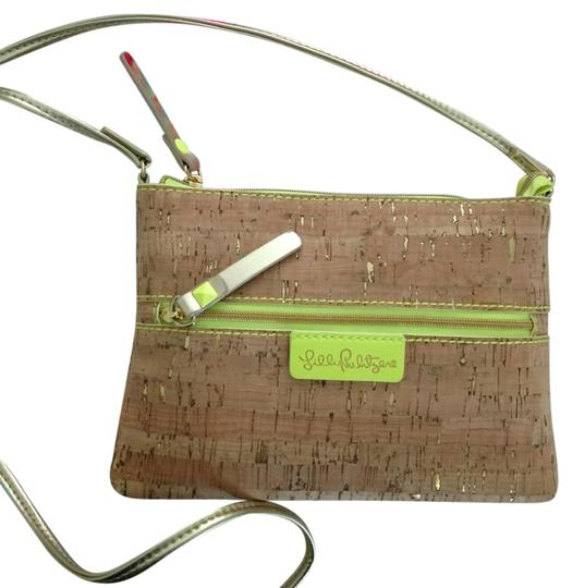 Preload https://img-static.tradesy.com/item/21708418/lilly-pulitzer-purse-tan-gold-lime-green-unknown-cross-body-bag-0-5-540-540.jpg