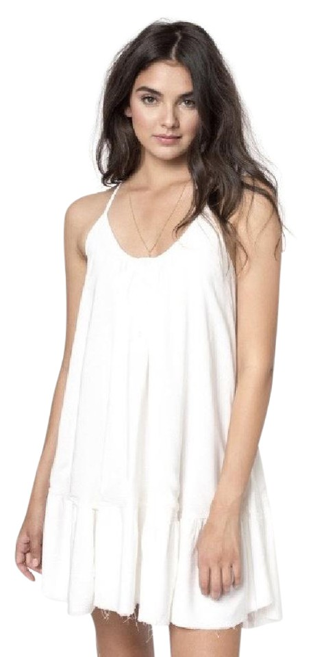 278ef27629b4 Sincerely Jules short dress White Rosa Swing Tunic Tent on Tradesy Image 0  ...