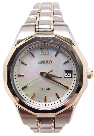 Preload https://img-static.tradesy.com/item/21708519/seiko-core-white-mother-of-pearl-dial-ladies-sut226-watch-0-1-540-540.jpg