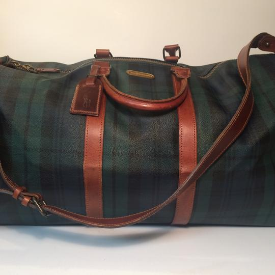 Polo Ralph Lauren Green Travel Bag