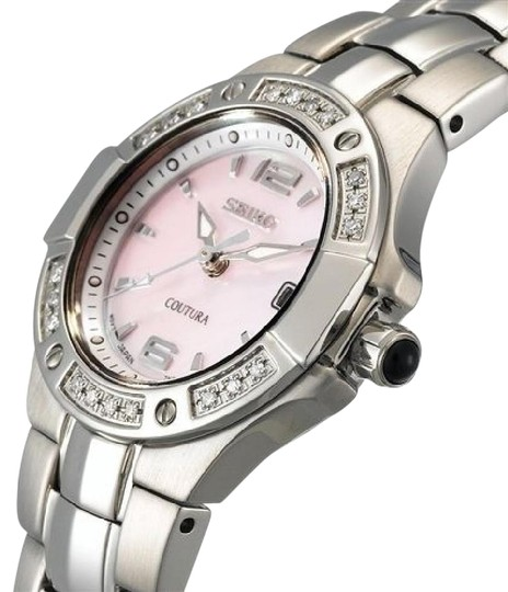 Preload https://img-static.tradesy.com/item/21708527/seiko-coutura-diamond-ladies-pink-mop-dial-stainless-steel-dress-watch-0-1-540-540.jpg
