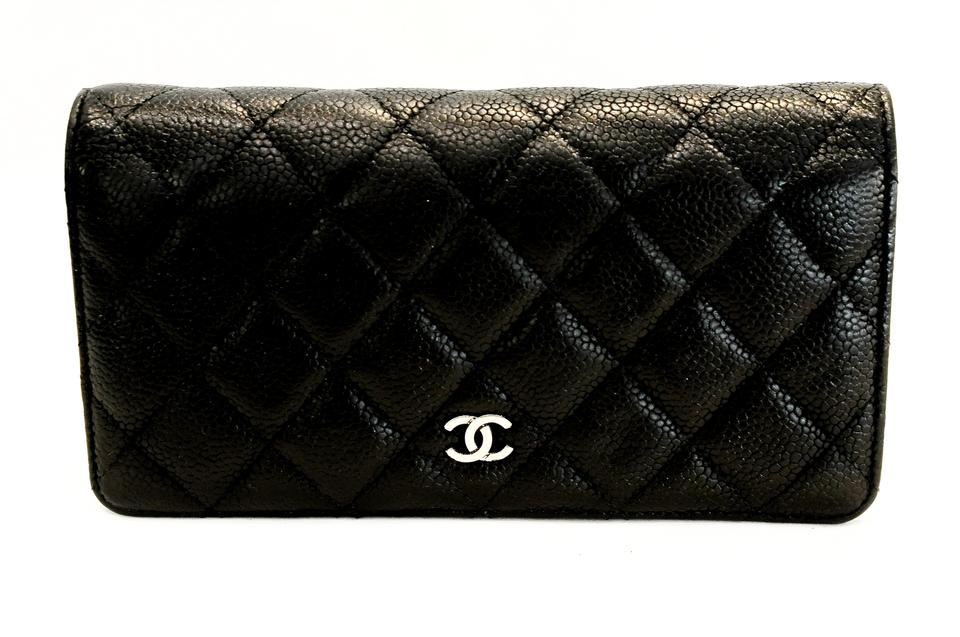 311fecdfdd68 Chanel Bifold Wallet Black Caviar | Stanford Center for Opportunity ...