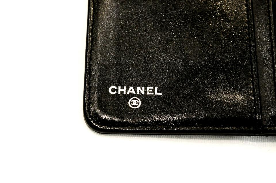 5df9538be3a0ea Chanel Quilted Bi-fold Wallet In Caviar Black | Stanford Center for ...