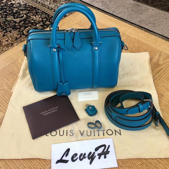 Preload https://img-static.tradesy.com/item/21708604/louis-vuitton-speedy-like-new-sophia-coppola-bb-in-bandouliere-25-bleu-canard-calfskin-leather-cross-0-4-540-540.jpg