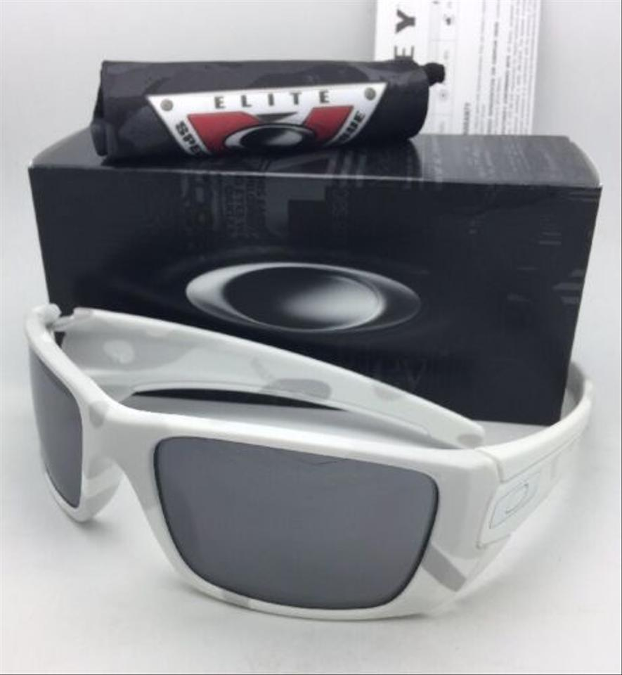 0f2e48193a5 Oakley Fuel Cell Oo9096-g6 60-19 Alpine White Camo W  Black Iridium W   Sunglasses