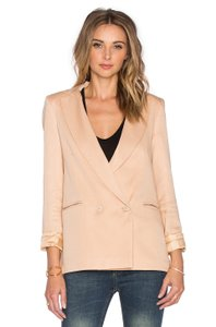 Sincerely Jules Riley Double Breasted Beige Blazer