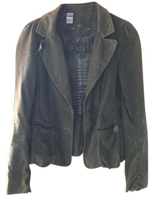 Preload https://img-static.tradesy.com/item/21708682/greenish-brown-with-intended-discoloration-smith-blazer-size-8-m-0-1-650-650.jpg
