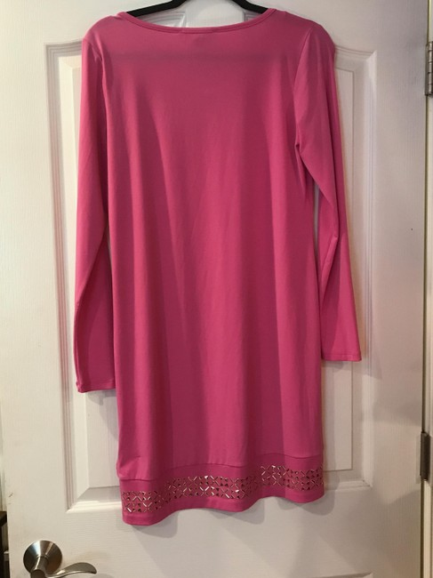 Michael Kors short dress Pink and Gold on Tradesy