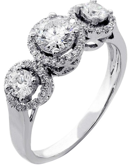 Preload https://img-static.tradesy.com/item/21708730/f-117cts-three-stone-round-cut-set-in-14k-white-engagement-ring-0-1-540-540.jpg