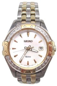 Seiko Seiko Ladies 7N62-0HL0 Stainless Steel Watch NEEDS NEW BATTERY OR REP