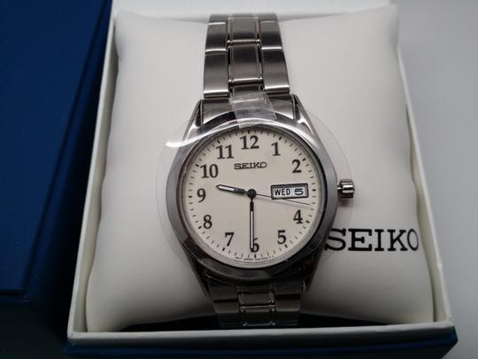 Seiko SEIKO LUMIBRITE DIAL DAY & DATE ST.STEEL CASE & BRACELET MEN'S WATCH