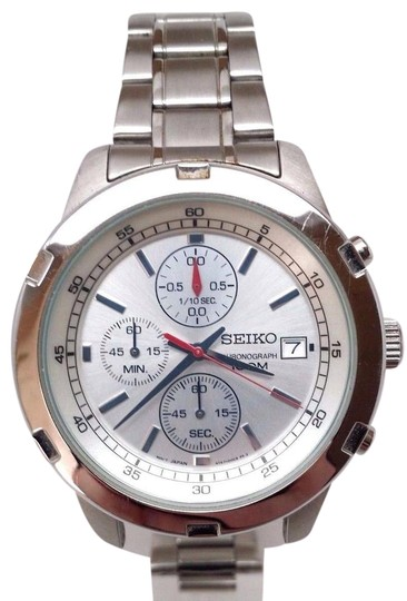 Preload https://img-static.tradesy.com/item/21708915/seiko-men-s-sks417-silver-stainless-steel-quartz-watch-0-1-540-540.jpg