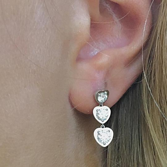 Cartier Cartier French Hallmarked Diamants Légers Earrings set in 18k White Gold with VS1 Diamonds