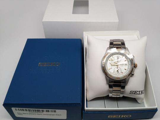 Seiko SEIKO MENS WATCH SNA272 CHRONOGRAPH 2 TONE