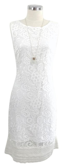 Preload https://img-static.tradesy.com/item/21709111/elie-tahari-whiteivory-sleeveless-lace-mid-length-short-casual-dress-size-10-m-0-1-650-650.jpg