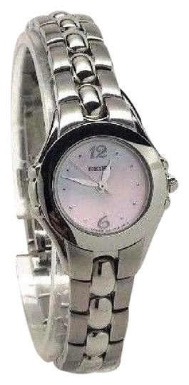 Preload https://img-static.tradesy.com/item/21709191/seiko-quartz-ladies-pink-mop-dial-stainless-steel-mini-dress-watch-0-1-540-540.jpg
