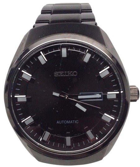 Preload https://img-static.tradesy.com/item/21709226/seiko-recraft-black-dial-black-ion-plated-mens-snkn43-watch-0-1-540-540.jpg