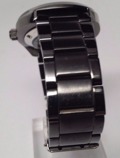 Seiko Seiko Recraft Automatic Black Dial Black Ion-plated Mens Watch SNKN43