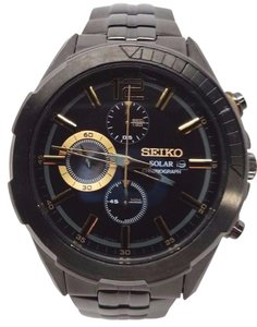 Seiko Seiko Recraft Series Men's Quartz Solar Watch SSC395