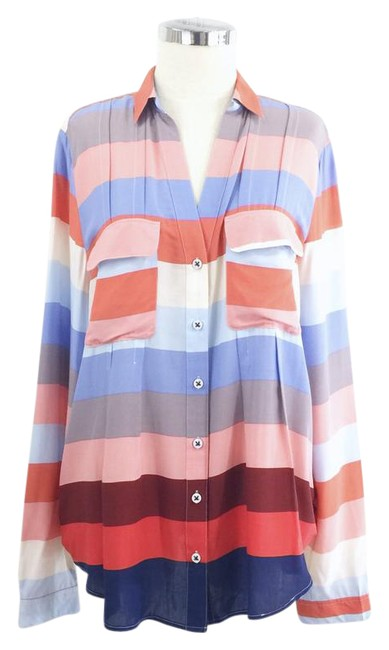 Preload https://img-static.tradesy.com/item/21709365/maeve-red-blue-striped-coral-button-down-top-size-12-l-0-1-650-650.jpg