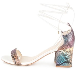 Alexandre Birman Multi-color Sandals