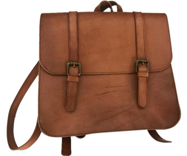 Item - Nuevo Tan Leather Backpack