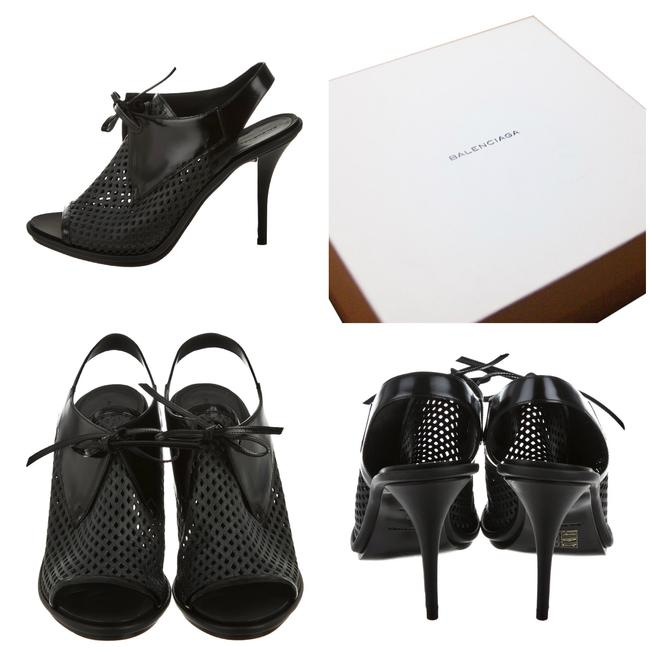 Item - Box New with Perforated Patent Leather Heels Sandals Size EU 40 (Approx. US 10) Wide (C, D)