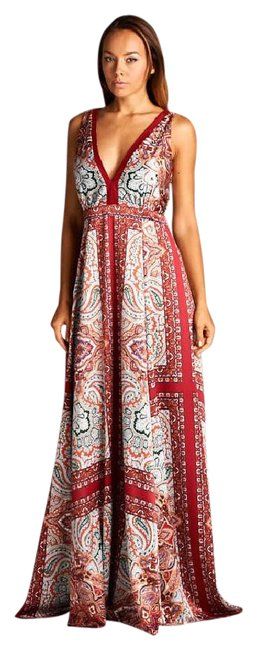 Preload https://img-static.tradesy.com/item/21709856/ag-studio-red-paisley-print-long-casual-maxi-dress-size-8-m-0-1-650-650.jpg