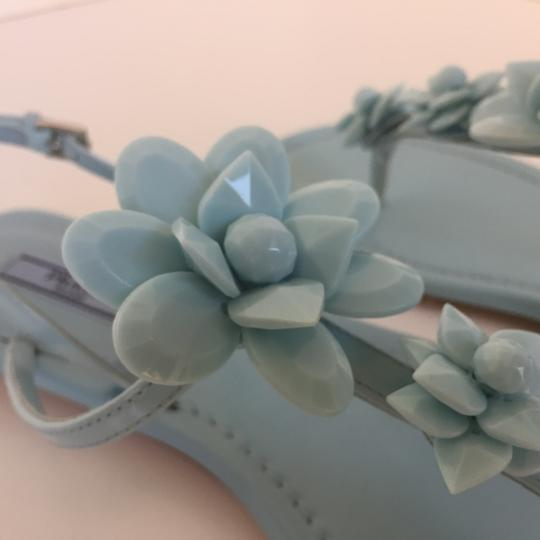 Prada Light Blue Sandals