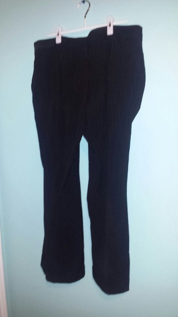 Venezia by Lane Bryant Flare Pants Black/Tan