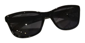 Oakley Forehand Polished Black frame with Grey lens.