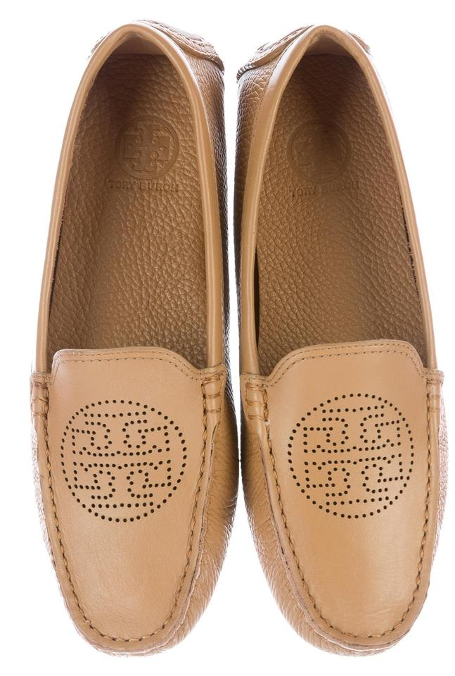 Perforated Leather Driving Shoes