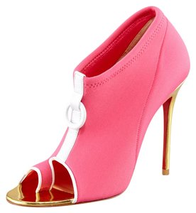 Christian Louboutin Thigh Pigalle Pumps Zanotti Studs Spikes Sandals Slingback Gold Pink Boots
