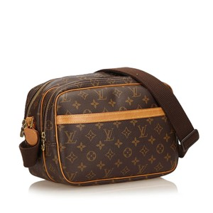 Louis Vuitton Crossbody Camera Shoulder Bags Lv Monogram brown Messenger Bag