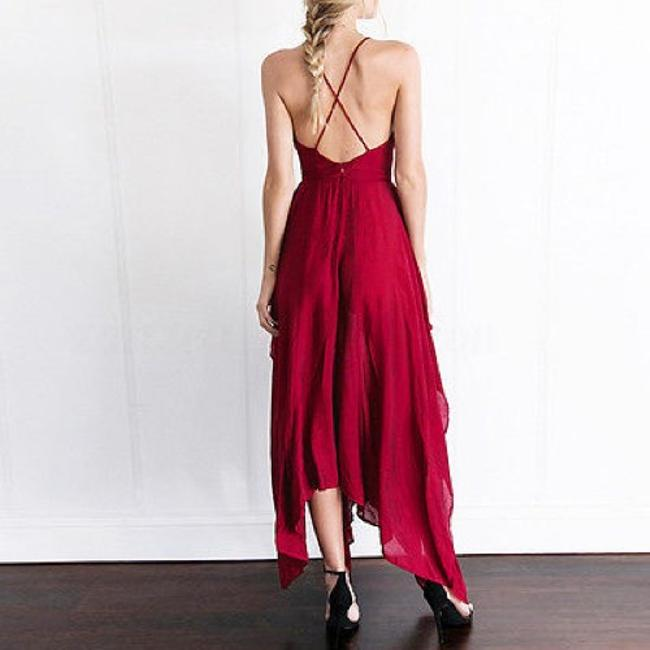 Berry-Red Maxi Dress by Tory's Timeless Treasures Boutique Image 6