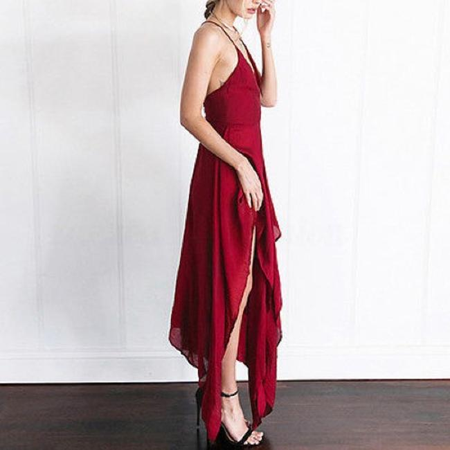 Berry-Red Maxi Dress by Tory's Timeless Treasures Boutique Image 7