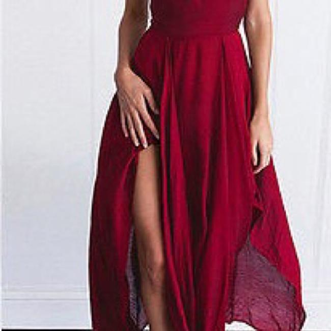 Berry-Red Maxi Dress by Tory's Timeless Treasures Boutique Image 8