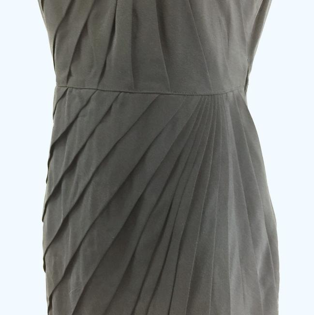 Madison Marcus short dress black Sheath Pleated Silk on Tradesy Image 8