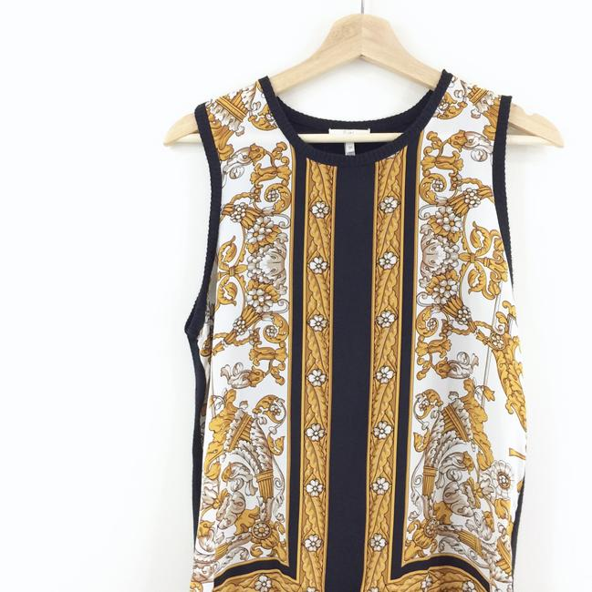 Joie Printed Silk Tank Knit Sweater Image 3