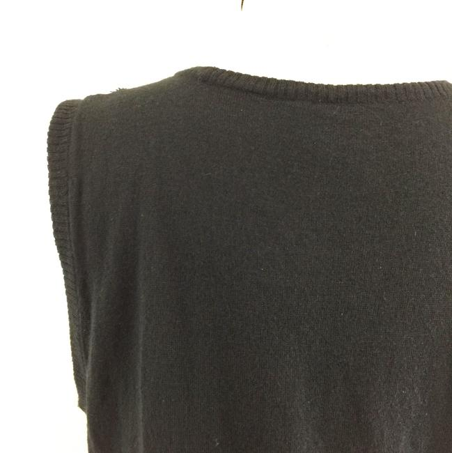 Joie Printed Silk Tank Knit Sweater Image 6