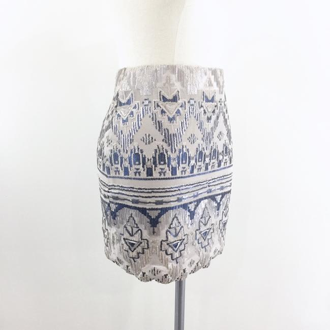 Capulet Sequin Tribal Mini Skirt blue Image 1