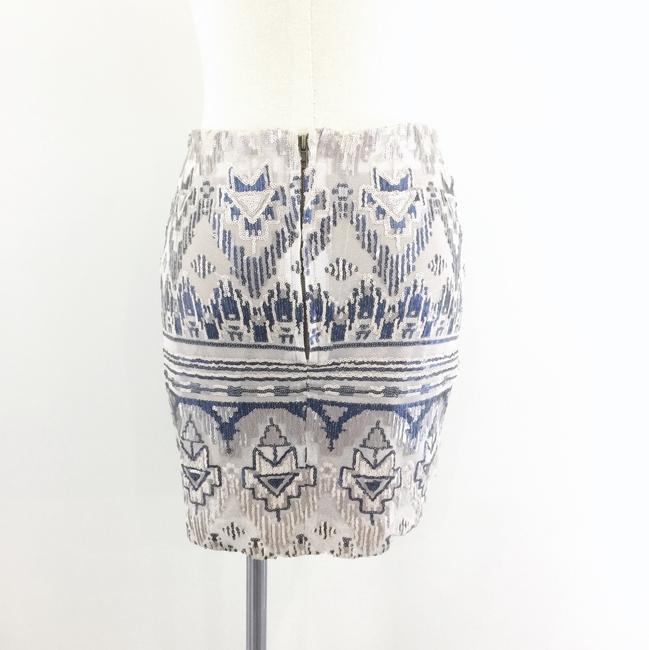 Capulet Sequin Tribal Mini Skirt blue Image 3