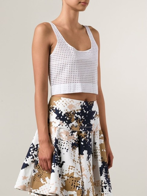 Rag & Bone Lakewood Eyelet Crop Top white Image 3