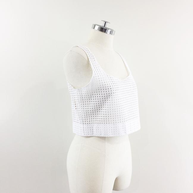 Rag & Bone Lakewood Eyelet Crop Top white Image 5