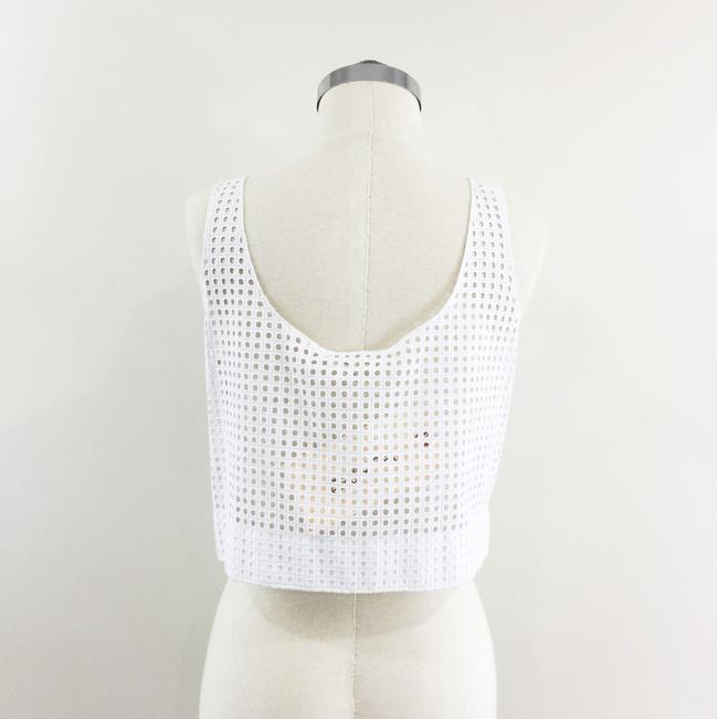 Rag & Bone Lakewood Eyelet Crop Top white Image 6