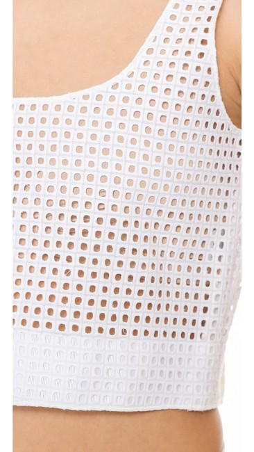 Rag & Bone Lakewood Eyelet Crop Top white Image 7