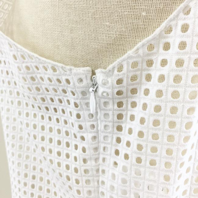 Rag & Bone Lakewood Eyelet Crop Top white Image 8
