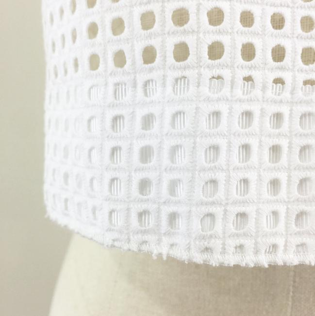 Rag & Bone Lakewood Eyelet Crop Top white Image 9