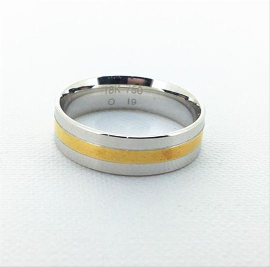 Other 18K Yellow / White Gold Dinmonds Ring UK6.25 Image 2