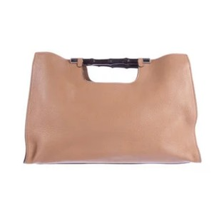 Gucci Bamboo Tote Bags Satchel in Beige